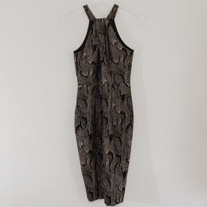 NWT H&M Exclusive Snakeskin Dress